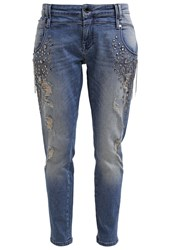 Gaudi' Gaudi Relaxed Fit Jeans Unico Light Blue Denim