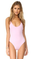 Karla Colletto Elle One Piece Pale Pink