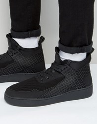 Criminal Damage Player Mid Top Trainers Black