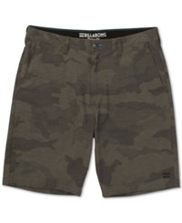 Billabong Men's Crossfire X Hybrid Shorts Military