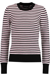 Jonathan Saunders Pye Ribbed Wool Sweater Pink
