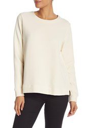 Eileen Fisher Long Sleeve Solid Sweater Unnat