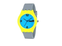 Neff Typhoon Watch Grey Yellow Watches Gray
