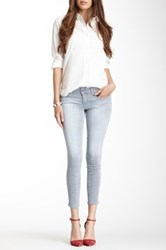 Level 99 Summer Janice Cropped Ultra Skinny Jean Gray