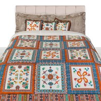Etro Rushmore Quilted Bedspread Beige