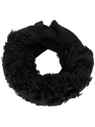 Lost And Found Ria Dunn Chunky Stole Black