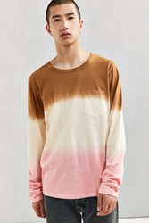 Mowgli Surf Neapolitan Long Sleeve Tee Brown