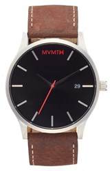 Mvmt The Classic Leather Strap Watch 45Mm Nordstrom Exclusive