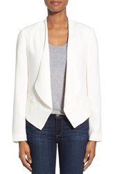 Women's Vince Camuto Drape Front Blazer New Ivory