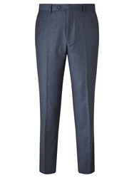 John Lewis Flannel Tailored Suit Trousers Airforce Blue