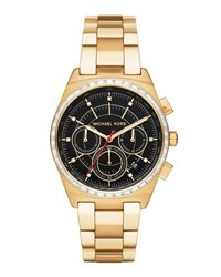 Michael Michael Kors 38Mm Vail Chronograph Watch Black
