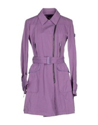 Piquadro Full Length Jackets Mauve