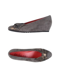 Pas De Rouge Pumps Dove Grey