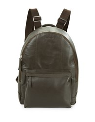 Cole Haan Pebbled Leather Backpack Black