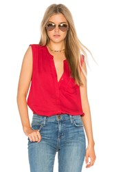 Soft Joie Caridad Tank Red