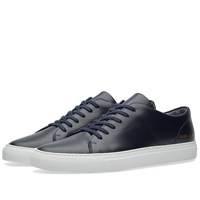 Common Projects Court Low Boxed Leather Blue