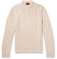 Tod's Cable Knit Sweater Cream