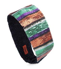 Missoni Sequined Striped Headband Multicoloured