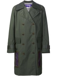 Junya Watanabe Comme Des Garcons Man Double Breasted Coat Green
