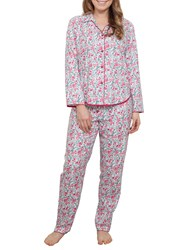 Cyberjammies Holly Berry Pyjama Set Red Multi