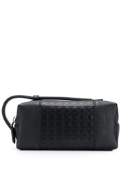 Salvatore Ferragamo Firenze Glam Clutch Black