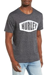 Hurley Men's Stationed Graphic T Shirt