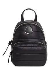 Moncler Small Kilia Quilted Nylon Backpack Black