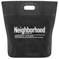 Neighborhood Tarp Bag Black
