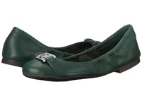 Lauren Ralph Lauren Betty Green Gables Soft Burnished Calf Women's Flat Shoes