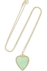 Jennifer Meyer Heart 18 Karat Gold