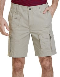 Nautica Big And Tall Solid Cargo Shorts Beach Sand