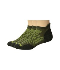 Smartwool Phd Outdoor Light Micro 3 Pack Charcoal Crew Cut Socks Shoes Gray