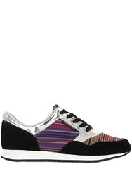 United Nude Leather And Elastic Sneakers For Lvr