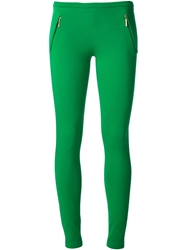 Emilio Pucci Zipped Pocket Leggings Green