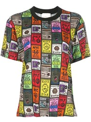 Nicole Miller All Over Print T Shirt 60