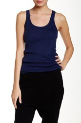 Inhabit Knit Tank Blue