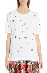 Dolce And Gabbana Women's Jewel Cotton Tee