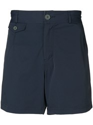 Brunello Cucinelli Straight Leg Swim Shorts Blue