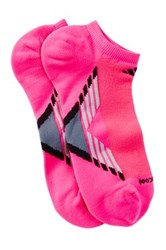 Adidas Performance Climacool No Show Socks Pack Of 2 Pink