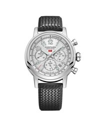 Chopard 42Mm Racing Mille Miglia Classic Chronograph Watch With Tire Strap Black Red
