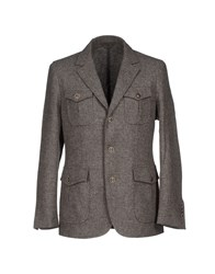 Gran Sasso Suits And Jackets Blazers Men Grey