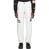 Adidas By Alexander Wang Originals Off White Graphic Lounge Pants