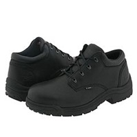 Timberland Titan Oxford Safety Toe Low Black Smooth Full Grain Leather Men's Industrial Shoes