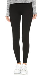 Three Dots Riley Ponte Leggings Black