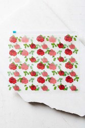 Urban Outfitters Uo Rose Zip Cosmetics Pouch Assorted