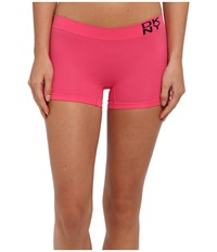 Dkny Intimates Energy Seamless Boyshort Pink Punch Women's Underwear