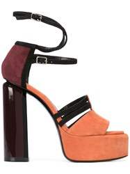 Pierre Hardy Lucy Sandals Yellow And Orange