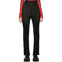 Moncler Genius 2 1952 Black Tricot Lounge Pants
