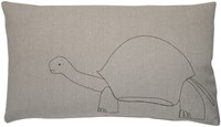 K Studio Galapagos Tortoise Pillow Gray
