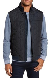 Ted Baker Men's London Ferny Quilted Vest Navy